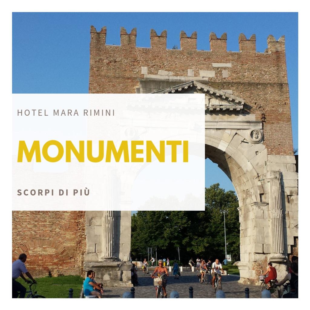monumenti - hotel mara rimini